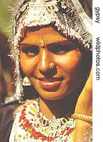 gypsy girl from Rajasthan